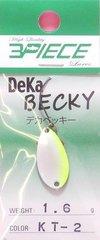 スリーピースルアーズ 3PIECE LURES デカベッキー DEKA BECKY レギュラーカラー 1.6g-C085