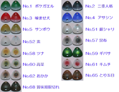 アールグラット ドワーフ 0.6g アクアエリア オリカラ (AALGLATT Dwarf Triangle Metal Baits AQUAAREA Original Color)-G870