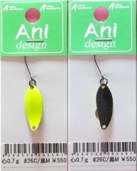 オフィスユーカリ Aniデザイン 心 0.7g #26 C/黒M-B026