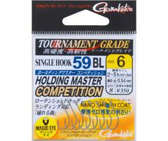 がまかつ シングルフック 59BL ホールディングマスターコンペティション(ナノ・スムース・コート)-A688