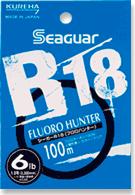 クレハ シーガー R18 フロロハンター 3lb 100m クリア-A004