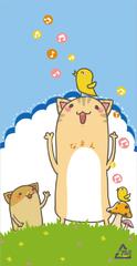 008 小鳥と猫