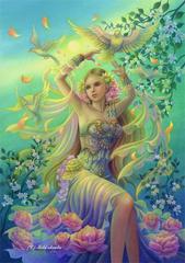 ポストカード:「春を呼ぶ女神:ペルセポネ」