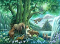 ポストカード:「楽園の光」