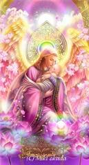 慈愛の天使・スマホケース手帳型