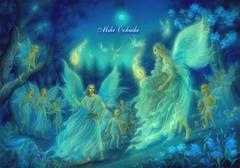 ポストカード:「夏の夜の夢」
