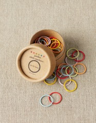 Cocoknits COLORED RING STITCH MARKERS(特大)