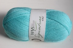 WYS 4Ply(309) Spearmint(薄水色)