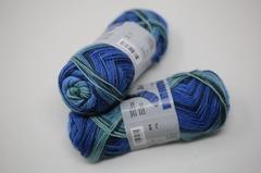 Jawoll Twin 50g   0514 blau-mint