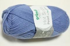 Gruendl Hot Socks Pearl  11 bleuツユクサ色