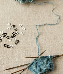 Cocoknits Triangle Stitch Markers- EXTRA SMAL
