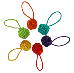 hiyahiya yarn ball stitch marker