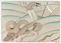 蛸(A5サイズ額絵)