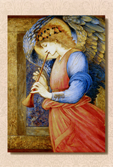 An Angel Playing a Flageolet(A5サイズ額絵)