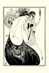 孔雀の裳裾(A5サイズ額絵)