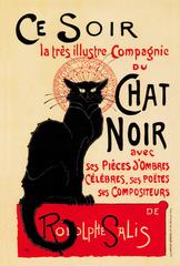 Ce Soir Chat Noir(A4サイズ額絵)