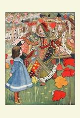 赤の女王(A4サイズ額絵)