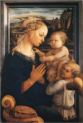 聖母子(A4サイズ額絵)