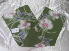 【女物浴衣(グリーン色系-2)全7タイプ】販売 ★N76