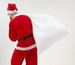 【販売品】Chistmas SANTA BIG BAG【大きなサンタさんの白い袋】★SALE!