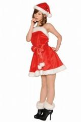 【販売品】Chistmas レディース サンタドレス【パーティサンタドレス】★SALE!