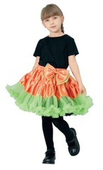 【販売品】ORANGE RIBBON REVERSIBLE TUTU ★ハロウィン