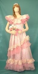 【女装用・ウエディングドレス03/ピンク】 ★M335-03