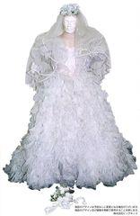 ウェディングドレス01 女装用