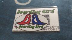 Boarding Birdロゴステッカー