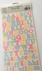 アルファベット スティッカー 各種