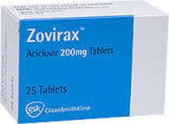 ZOVIRAX 200mg 25錠