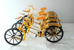 アルミ自転車(黄色)
