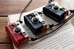 クラシックカメラネックレス