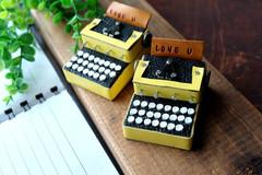タイプライター(黄色)