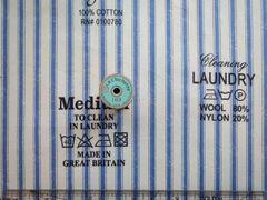 SZ826373C   Letter&Stripe C ブルー