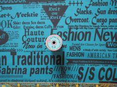SZ826547D   fashion newsD 黒×ターコイズ