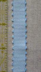 ブレード 横縞ピコ(太) 白×水色