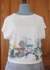 パリ風景Tシャツ