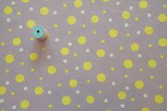 SZ826581H  Dot-dot H ライトグレー×レモン