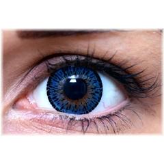 ColourVUE エレガンス【ブルー】ELEGANCE~黒縁&鮮烈発色 2枚1セット