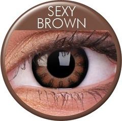 ColourVUE BIGEYES【SEXY BROWN】デカ目薄茶コン 2枚1セット