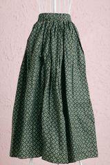 期間限定花柄スカート