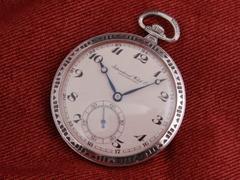 AP-64 IWC シルバーケース 懐中時計