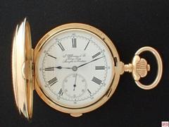 AQS-1 J.ULLMANN&Co. ソヌリ・クオーターリピーター懐中時計
