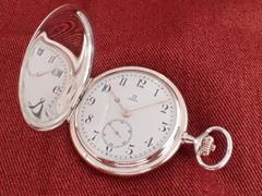 AS-69 オメガ サンビームハンターケース 懐中時計