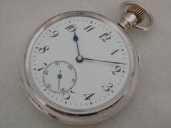 AJ-139 無銘 銀無垢ケース 懐中時計