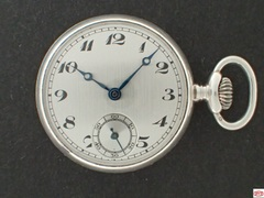 AL-79 E.ギュベリン 裏蓋スケルトン懐中時計