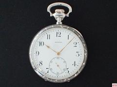 AU-69 ゼニス シルバーニエロ 懐中時計