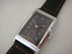 AL-36 無銘手巻き 角型時計 スイス製