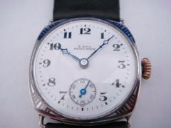 AP-27 E.B.Co 手巻き時計 シルバーニエロ